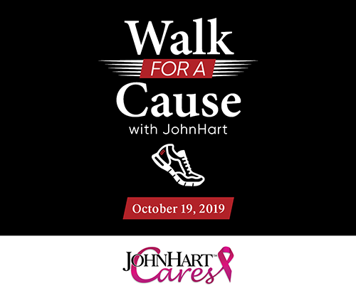 Walk For a Cause - JohnHartCares.com