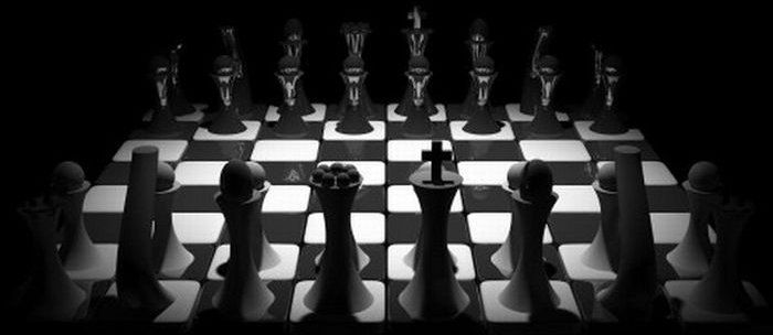 chess board negotiations