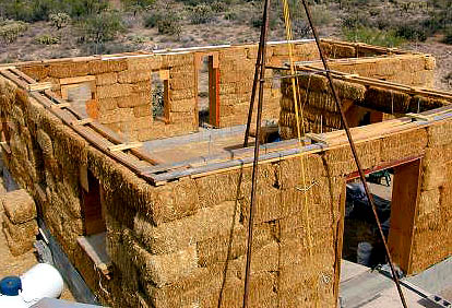 House made of straws real estate celebrity news blog for Straw bale house cost per square foot