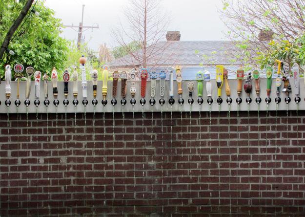 backyard keg taps