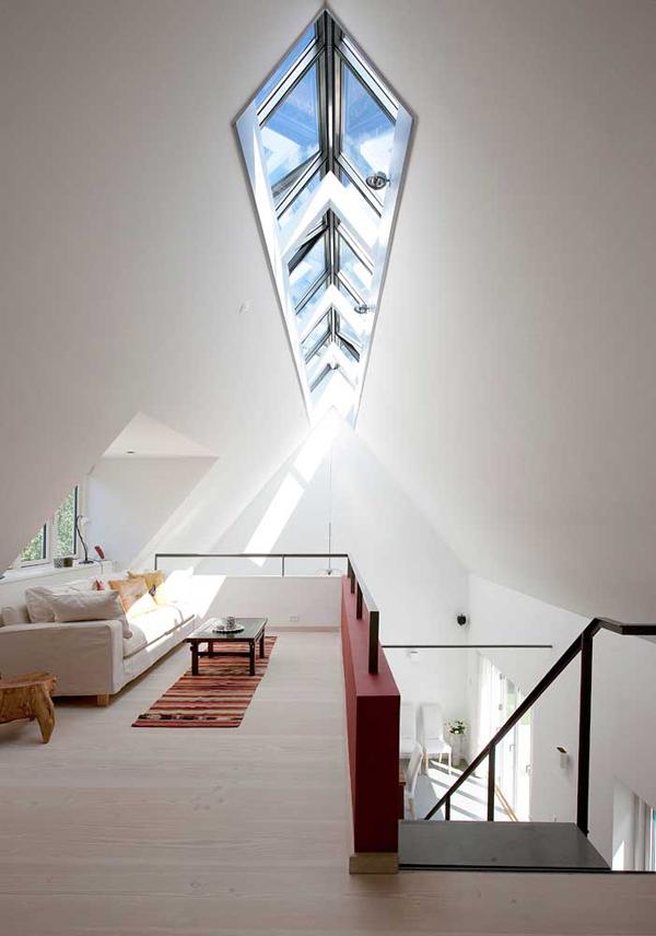 huge skylight
