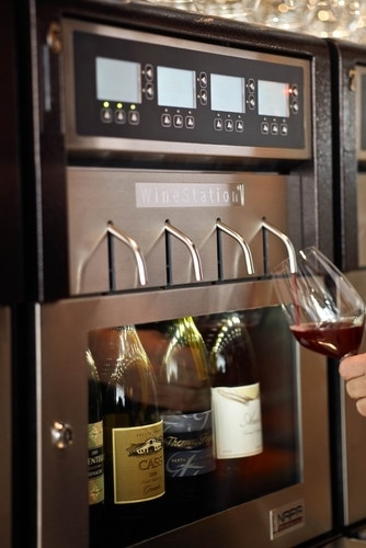 kitchen wine dispenser