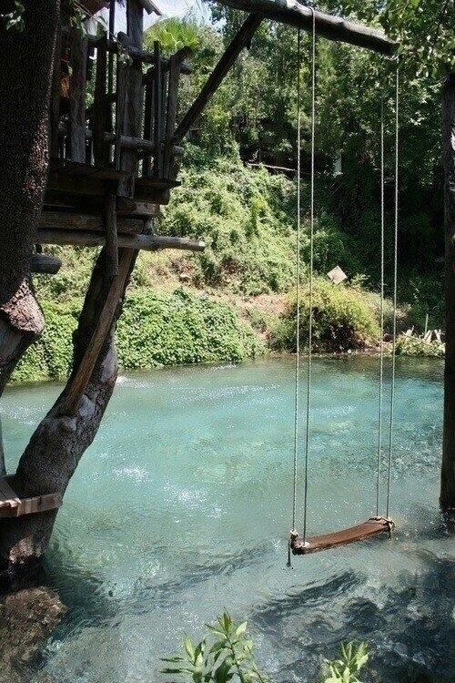 pool that looks like river