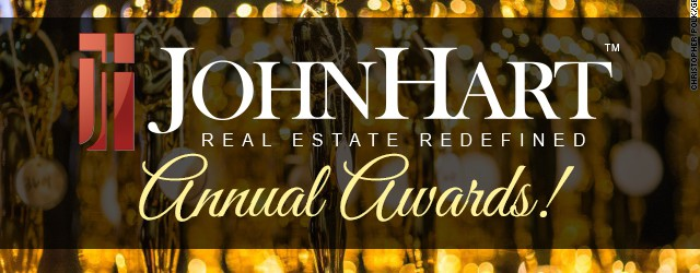 The 2015 JohnHart Real Estate Holiday Party Awards – Chosen live at the party by all in attendance! Tweet