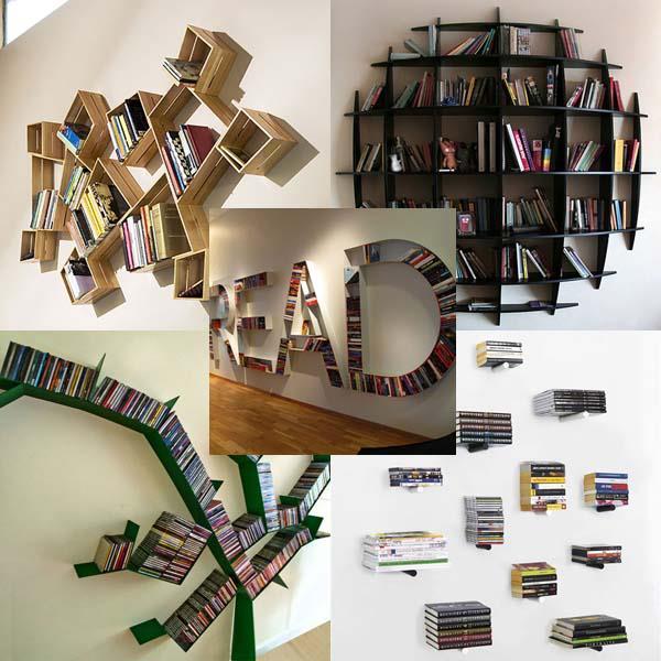 Intersting Bookshelf Ideas