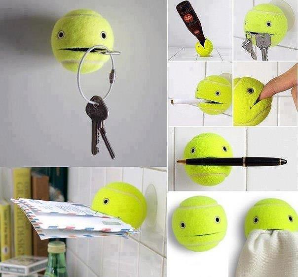 Mr. Tennis Ball Holder