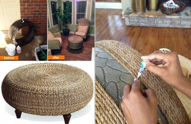 Yarn Stool or Table
