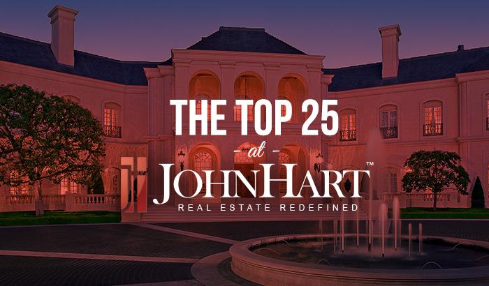 top 25 realtors at jh