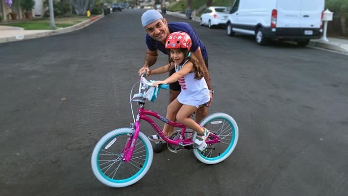 chloe biking for business