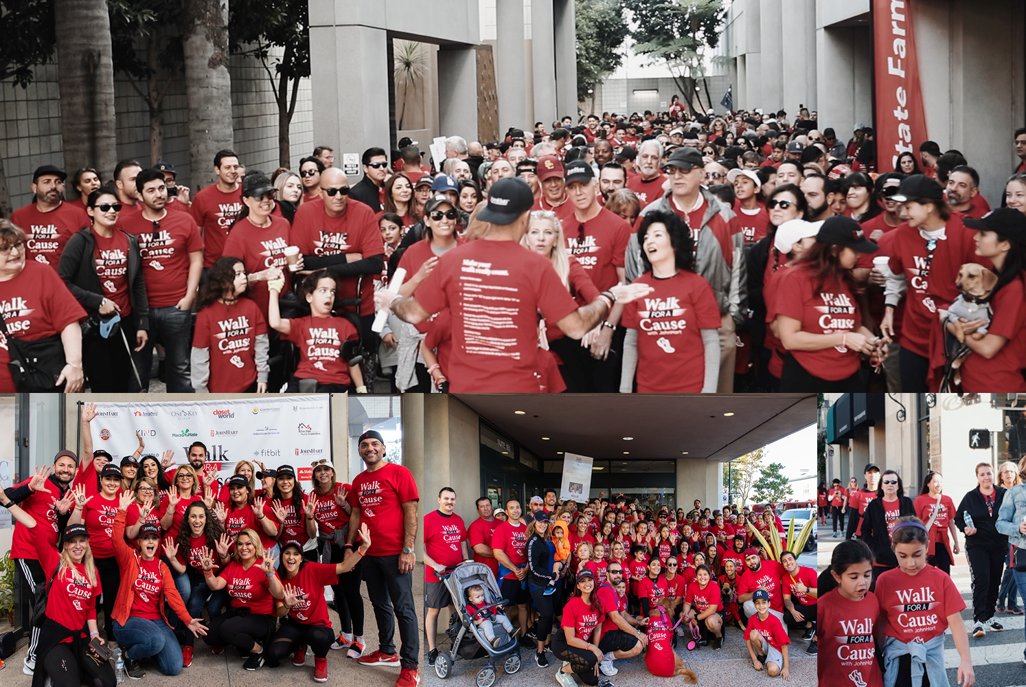 JohnHart agents, staff, family, and friends gathered to Walk For A Cause in Glendale, CA on October 19, 2019