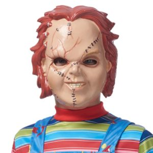 Chucky costume with mask, from Party City