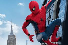 Tom Holland as Spider-Man in the Sony film