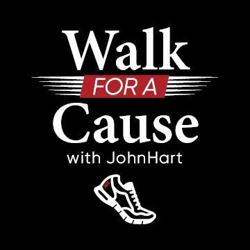JohnHart 2019 Walk For A Cause logo
