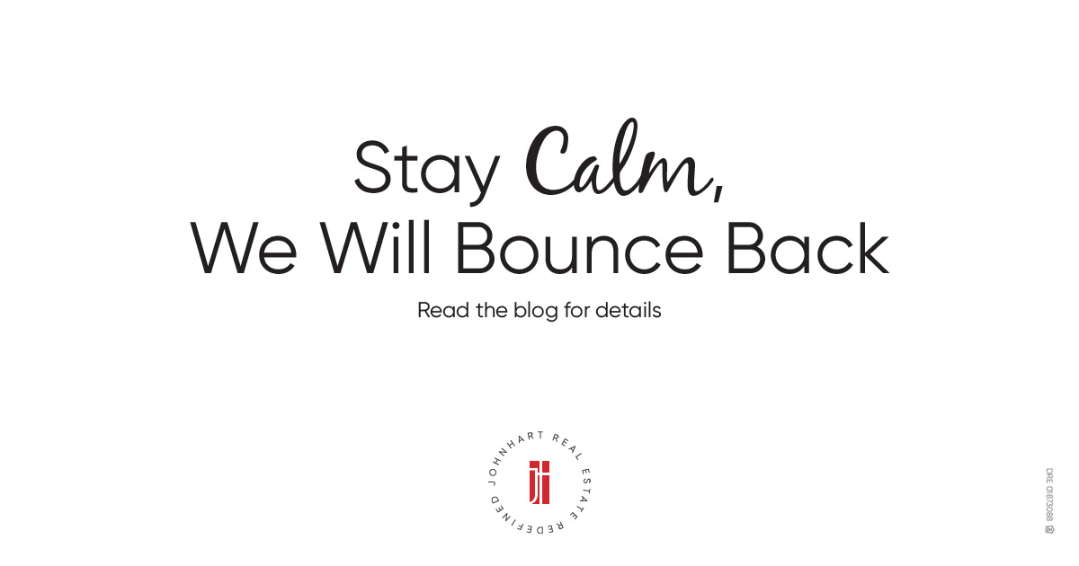 Stay Calm, We Will Bounce Back