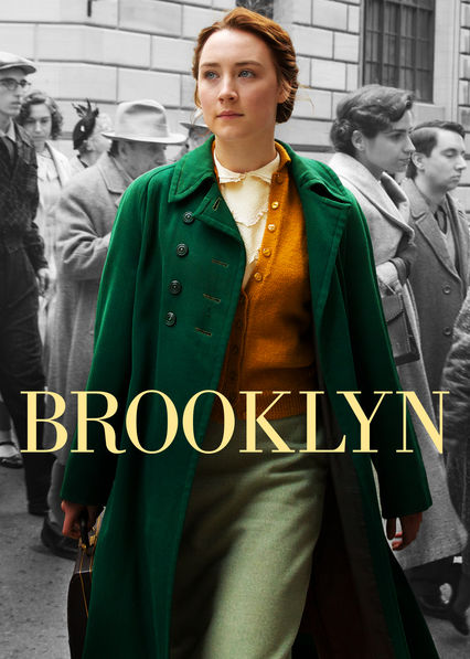 Saiorse Ronan in true Irish garb and colors, the star of Brooklyn
