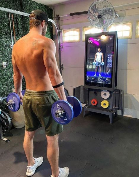 The Tempo Studio Gym provides the most in terms of equipment, plus a nifty place to store it all when you aren't exercising!