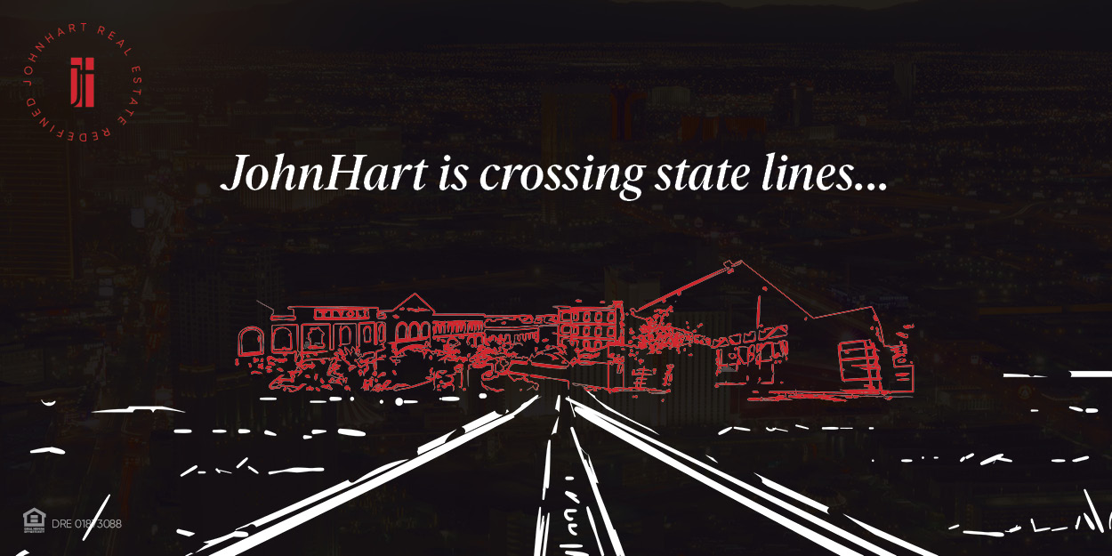 JohnHart Real Estate is crossing state lines